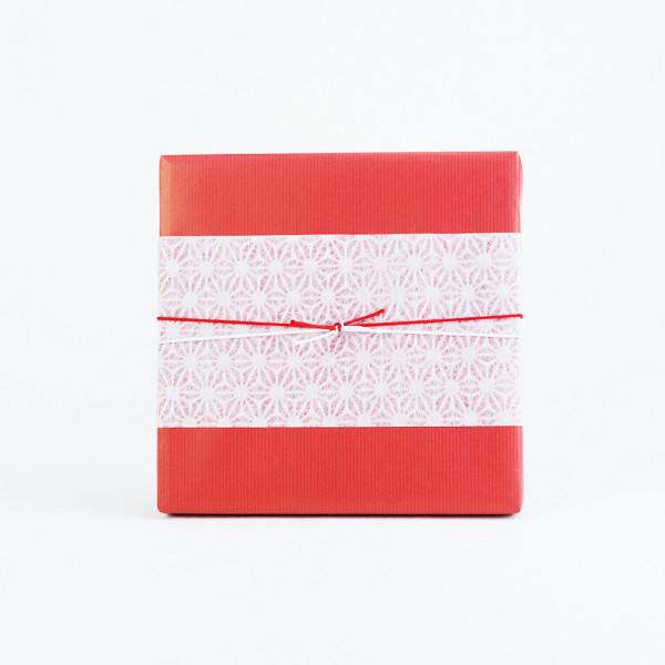和紙掛紙と水引(包装紙あり)のイメージサンプル