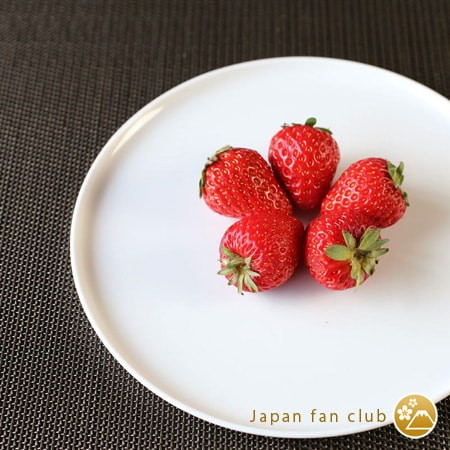 Strawberries on S&B Flat plate