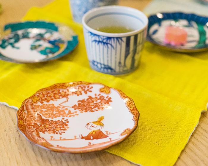 amabroリトルミィの九谷焼のお皿