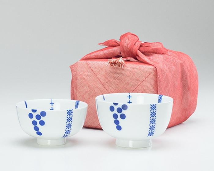 花茶碗のふきん包
