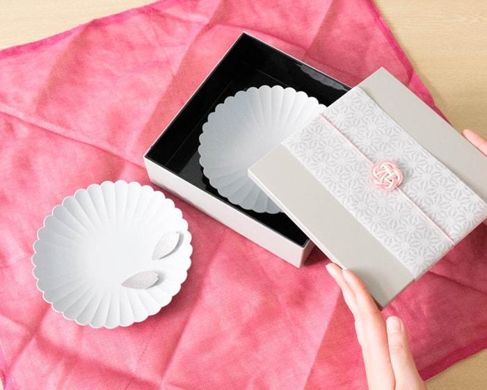 パレスプレート玉手箱セットのふきん包