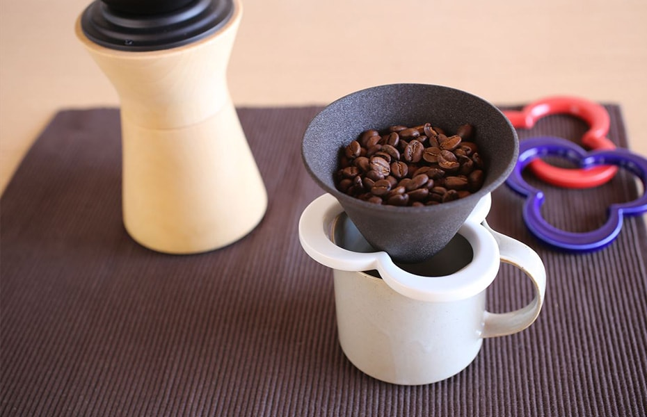 Coffee accessories in Japan Design Store