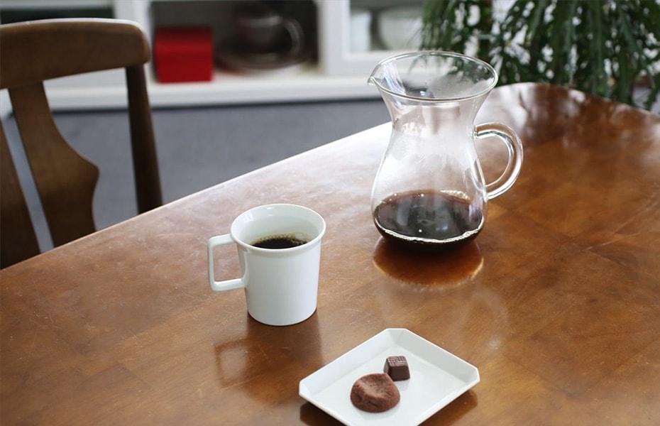 自宅でコーヒーを淹れるときの道具