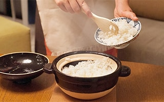Too easy, too delicious! How to cook white rice with Kamado-san