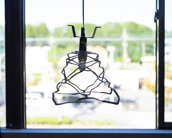 Use KAGO from Nousaku as lamp shade