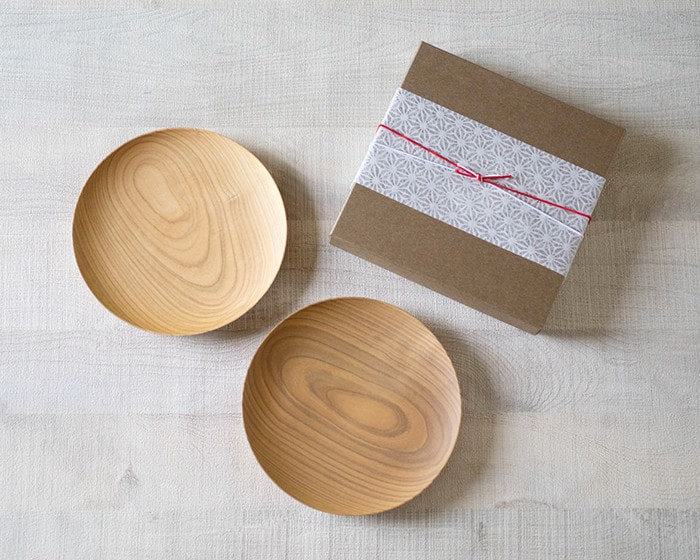 WDHの山桜ノ木皿、取皿