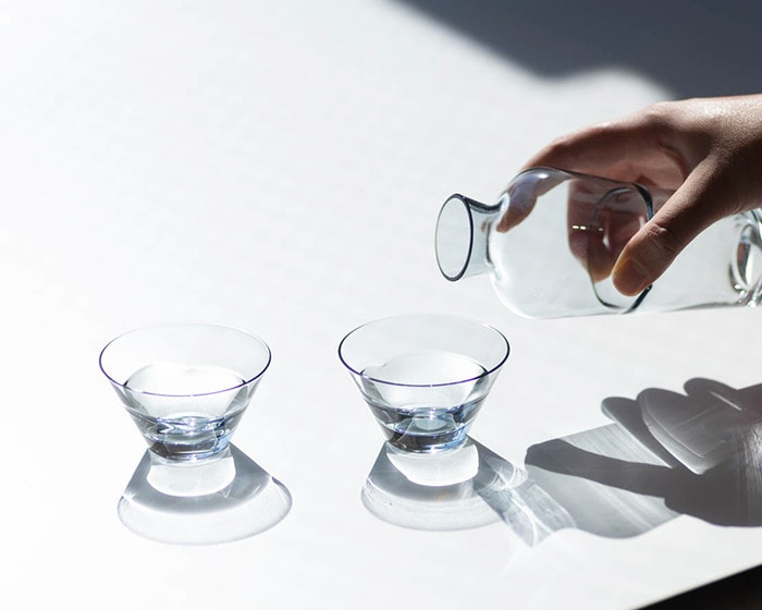 Duo sake glass set from Sghr