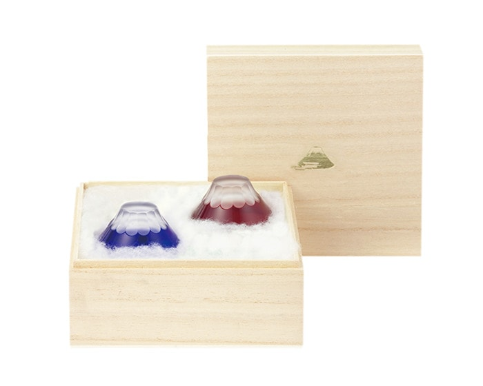 Fuji Edo Kiriko cold sake glass set from Floyd