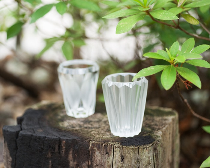 Shot glass MITATE from Kimura glass