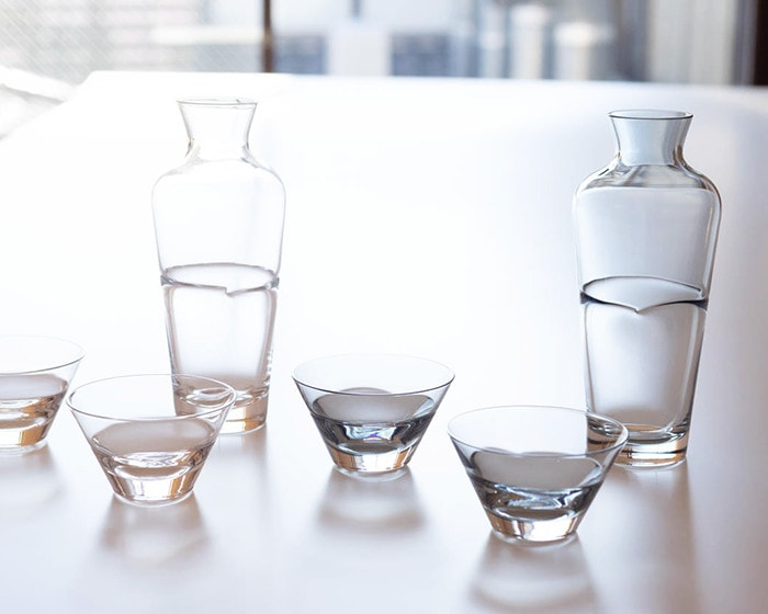 Sake glass set Duo from Sghr