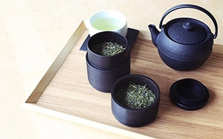 Japanese tea culture and Japanese tea set