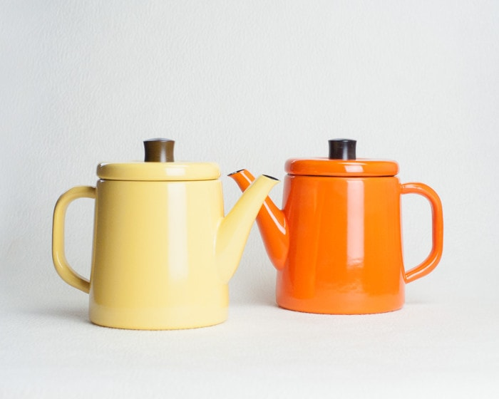 Yellow and orange Pottle from Noda Horo