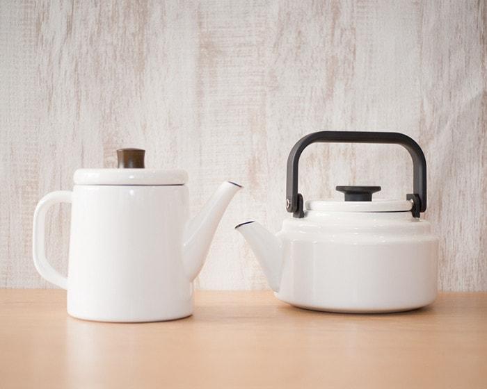 White Pottle and Amukettle from Noda Horo