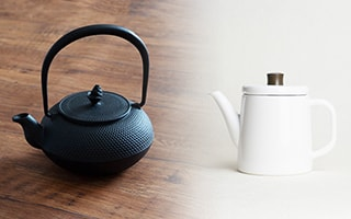 Japanese tea kettles worth for cherishing