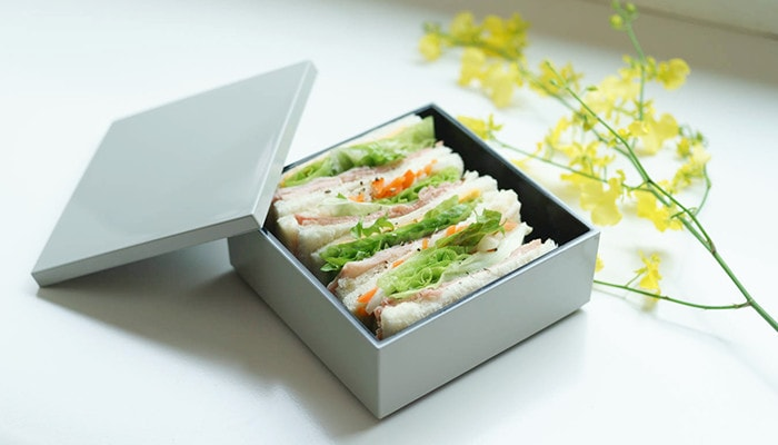 Sandwiches in Japan Design Store original jubako box
