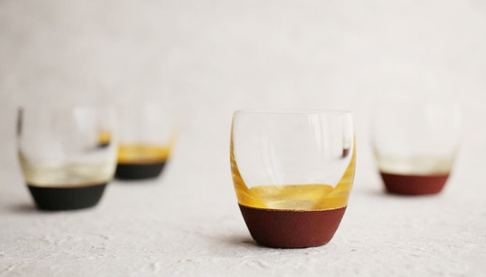 Lacquer sake cups form Toba Shitsugei