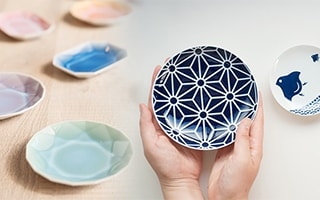Collect all! Cute and stylish Japanese mamezara plates