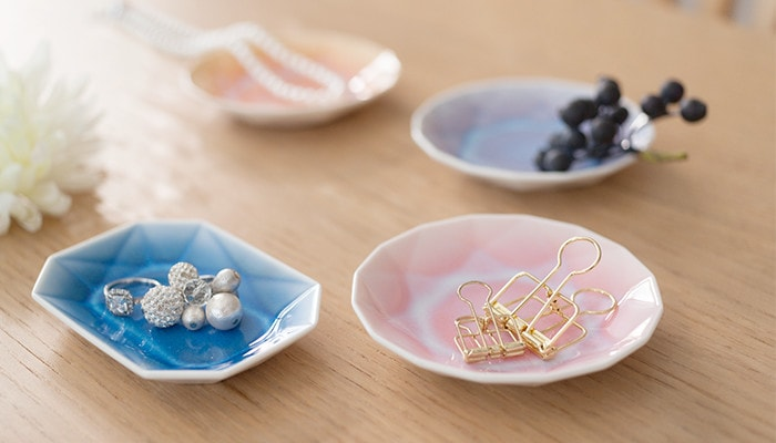 ARITA JEWEL plates can be accessory trays