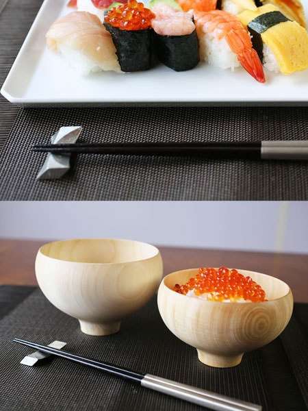 Table setting ideas of chopstick rest of Nousaku