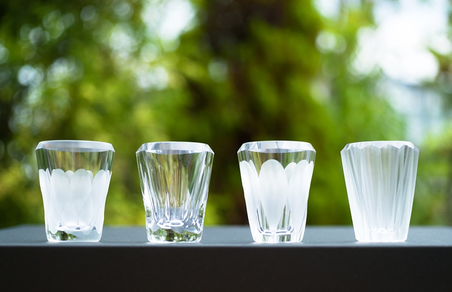 Recommended shot glasses MITATE