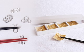 Japanese chopstick rests are recommended gifts!