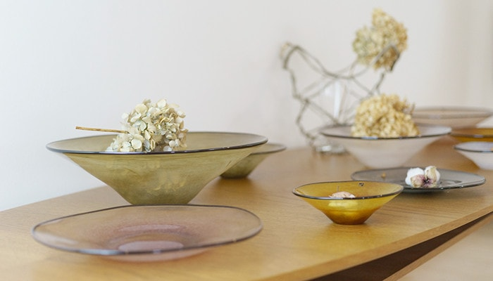 Example of use kasumi from fresco as flower bowl