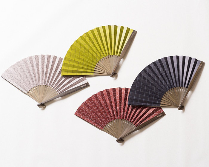 4種類の大風量扇子