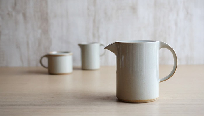 Teapot of Moderato series from ceramic japan