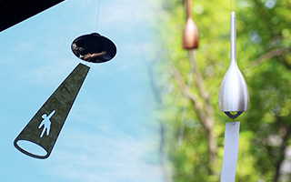 Survive summer with cool sound of Japanese wind chimes