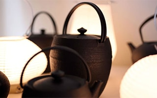 Japanese cast iron teapots and more from Yamagata casting