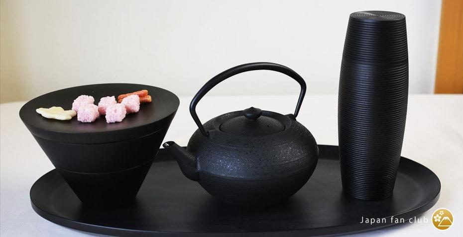 GATO Mikio Tea Time with Yamanaka lacquerware