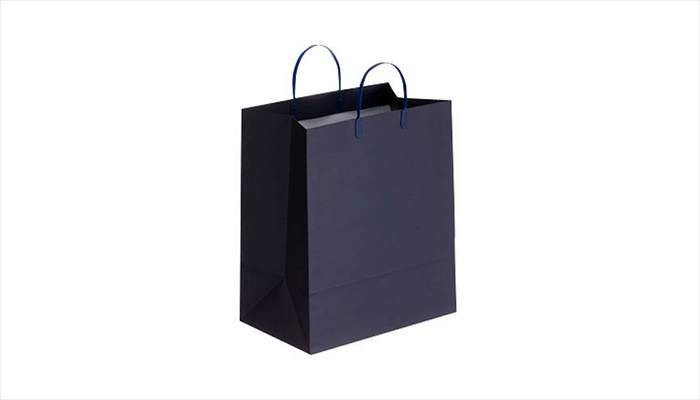 Paper bag for large-size products.