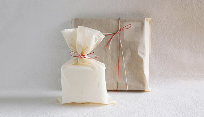 Wrapping image of Japanese paper wrapping bag