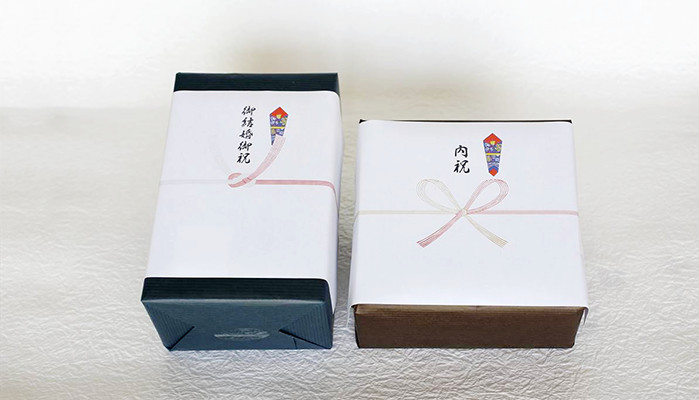 The image of Noshi wrapping