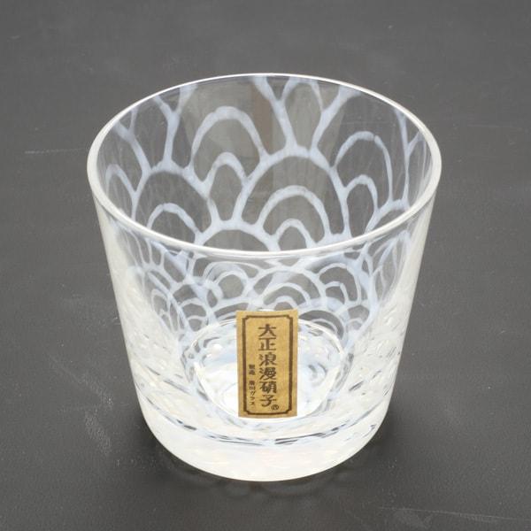 Hirota glass Taisho Roman Glass/ Nami