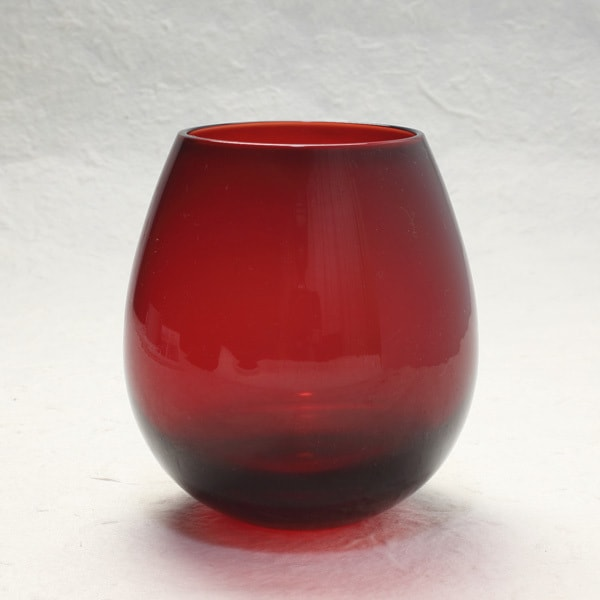 Edo glasses / Red / Karai Series / Hirota Glass
