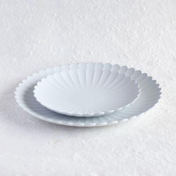 お皿/TYシリーズ Palace Plate 160+220 大、小 計2枚セット  TYパレスプレート グレーホワイト/1616 arita japan