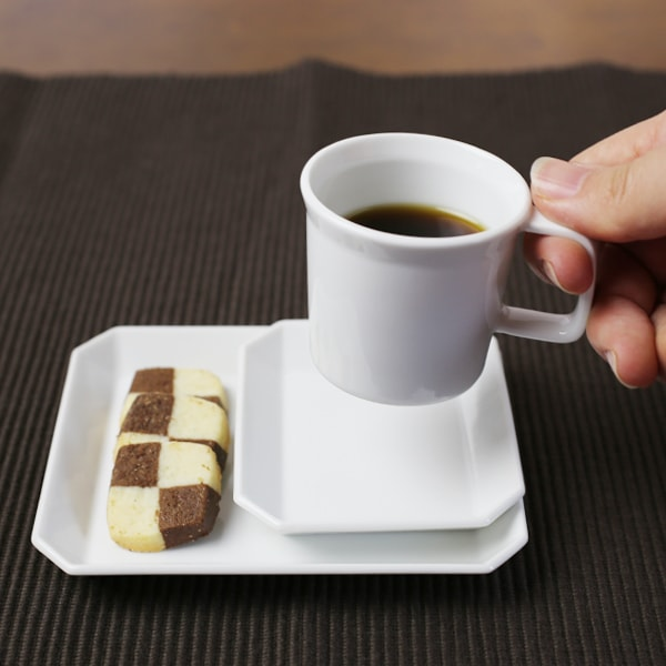 大人のエスプレッソセット (お皿 2点/エスプレッソカップ)