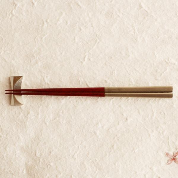 箸/凛(りん) 赤摺/我戸幹男商店