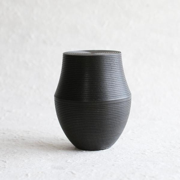 Tea Canister / KAMA / Black/ Karmi Series /Gato Mikio Store