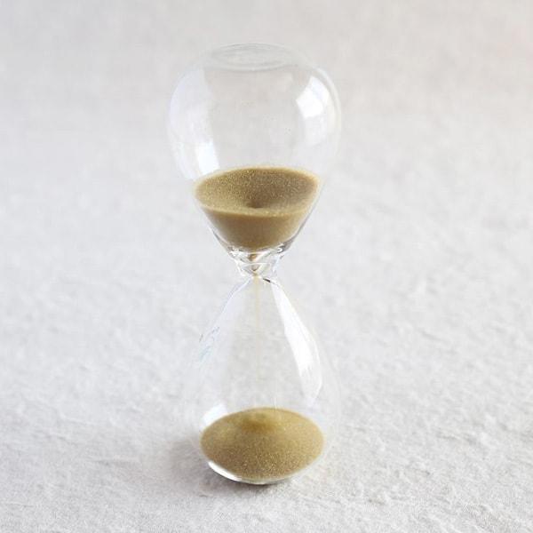 砂時計/スナ式トケイ スリム 3分間 金色/廣田硝子