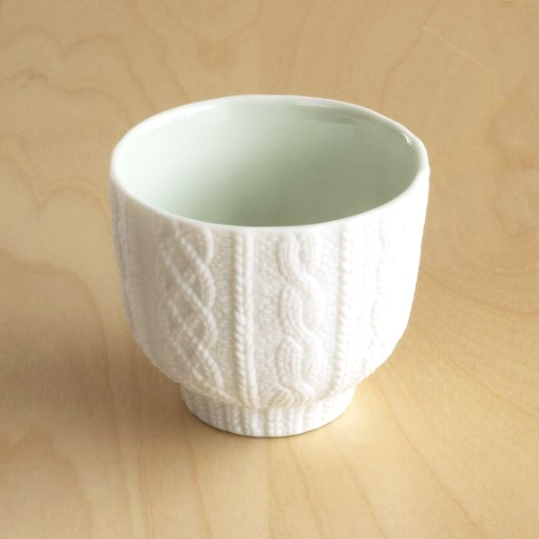 Teacup / Knit Wear / Green / Trace Face series / CEMENT PRODUCE DESIGN