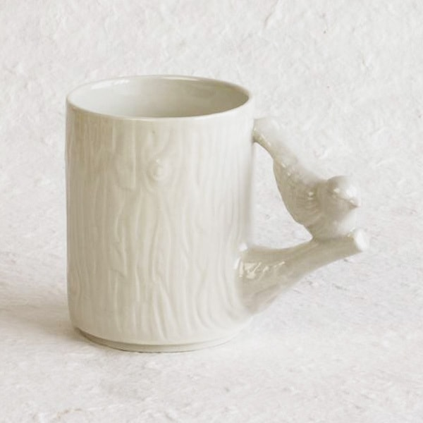Mug / Bird / Brown / Perch Cup Series