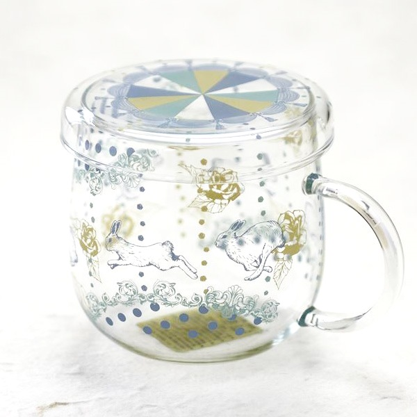 【合わせ買い対象】マグカップ/Tea Mate メリーゴーランド ラビット/セメントプロデュースデザイン