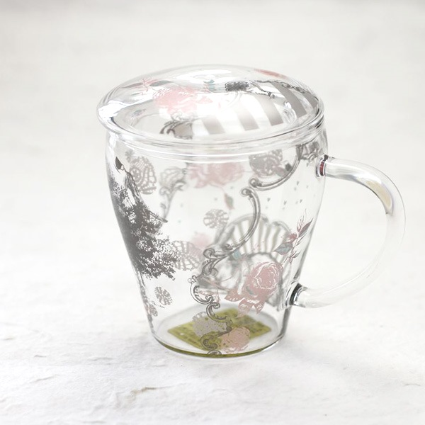 マグカップ/Tea Mate ガールズデイドリーム ローズ/セメントプロデュースデザイン