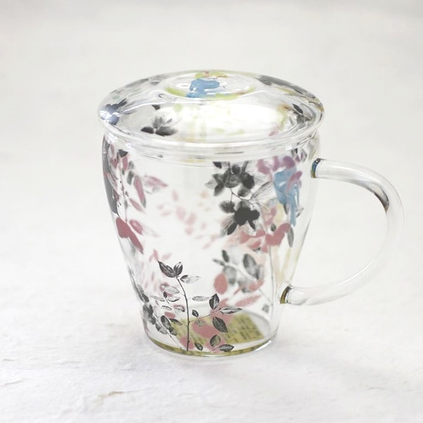 【合わせ買い対象】マグカップ/Tea Mate ガールズデイドリーム 小鳥/セメントプロデュースデザイン