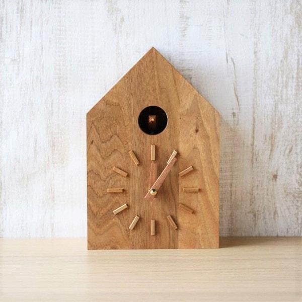 時計/鳩時計 クルミ/モアトゥリーズデザイン