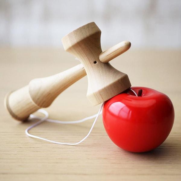 オブジェ、おもちゃ/りんごのけん玉/モアトゥリーズデザイン