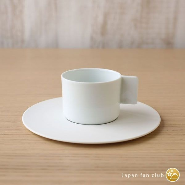 Coffee Cup & Saucer / White / S&B Series / 1616 arita japan
