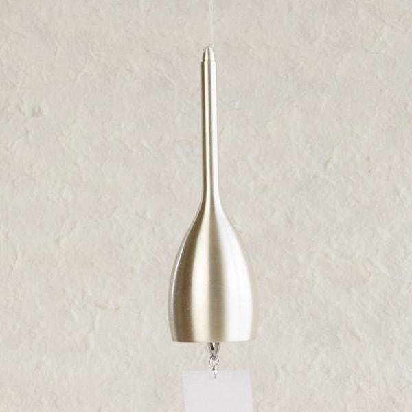 Japanese Wind Chime / Slim / Silver /Nousaku